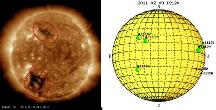 Coronal_holes_and_sunspots020811